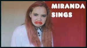 Miranda sings impression youtube
