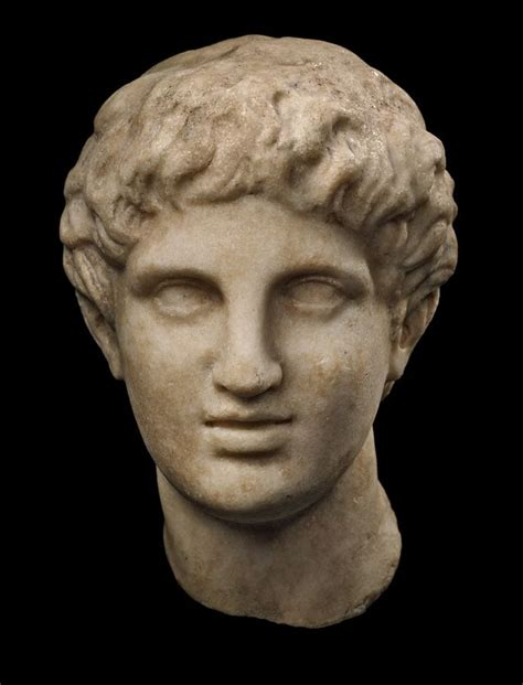 busts of ancient greeks romans and statues for sale ancient greek head of a young man profile merrin