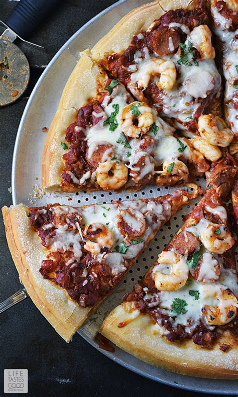 needs pizza jambalaya pizza life tastes good