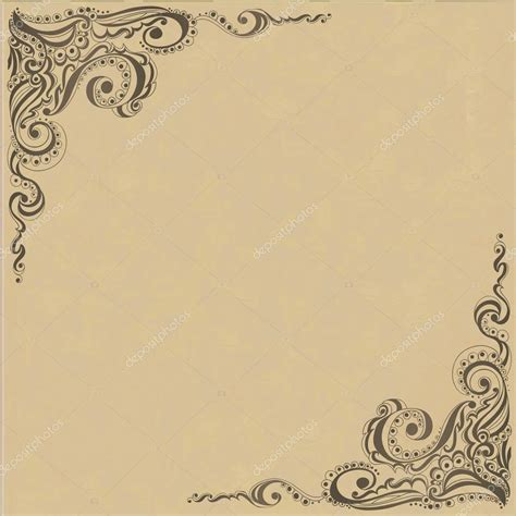 pattern frame template template frame design for card stock vector 169 olga