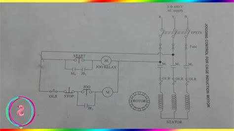 forward starter circuit diagram