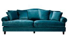 10 Easy Pieces The Blue Velvet Sofa Luxe Pictures Of Blue Velvet Couches Custom Navy Blue Velvet
