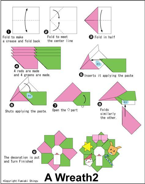 En Origami Club - wreath2 http en origami club wreath2