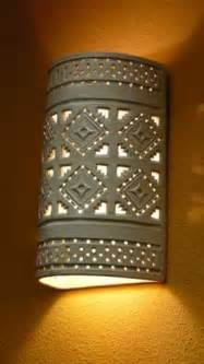 ceramic outdoor lighting sconces southwest style ceramic
