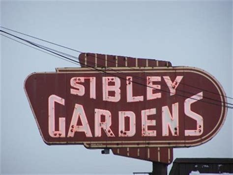 sibley gardens trenton mi neon signs on waymarking