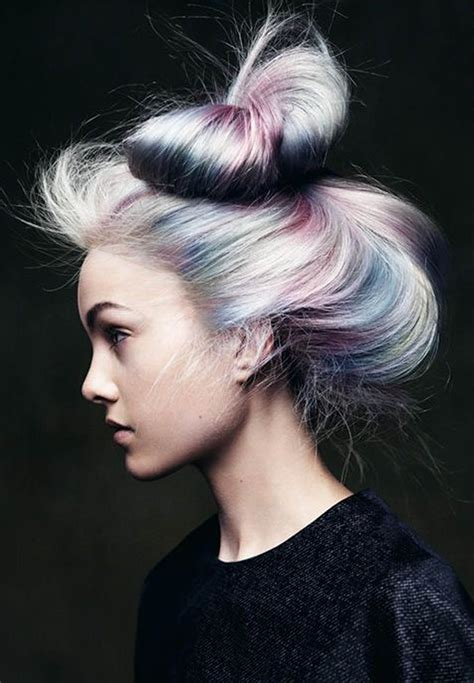 hait color magic unicorn opal hair color strayhair