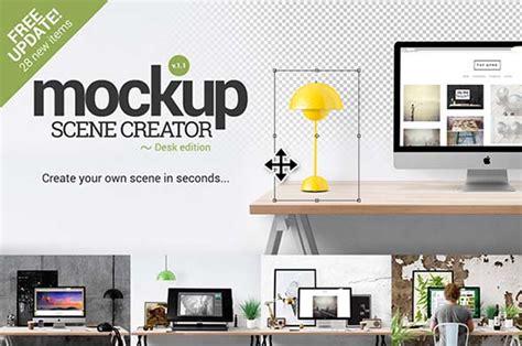 design mockup generator 40 psd mockup scene creators free and premium over 1k