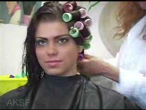 beauty salon sissy roller setting beauty salon sissy gets a roller set world news rachael
