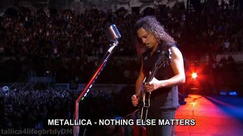 metallica nothing else matters übersetzung metallica nothing else matters hd espa 241 ol traducida