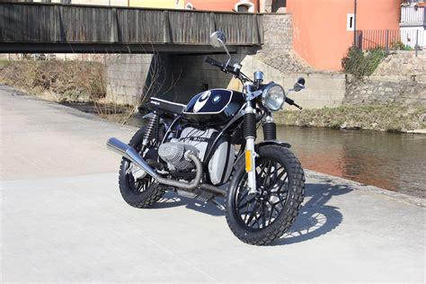 Motorrad Hupe Umbauen by Bmw R45 Scrambler Umbau Von Hornig Mit T 220 V Plakette Ohne