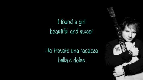 ed sheeran perfect testo ed sheeran perfect testo e traduzione ita youtube