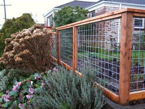 Wood And Wire Trellis Fence Designs Wood And Wire Ayanahouse