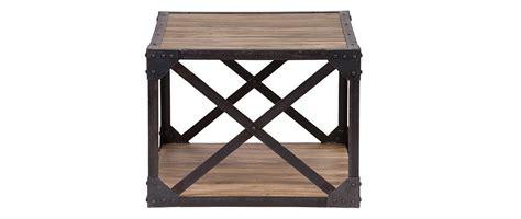 table basse bois et metal 99 table basse bois massif et m 233 tal industrielle atelier