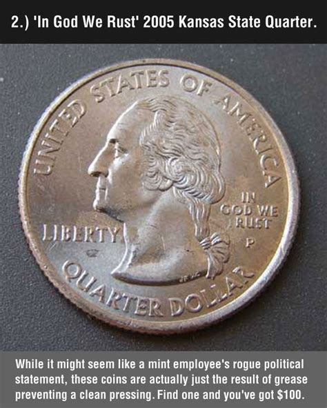 cool rare coins misspell quarter good to know pinterest