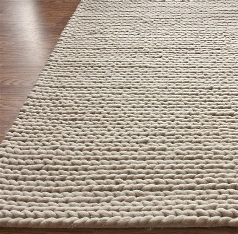 How To Clean Wool Carpet Rugs by 10 Knit Rugs For The Modern Home