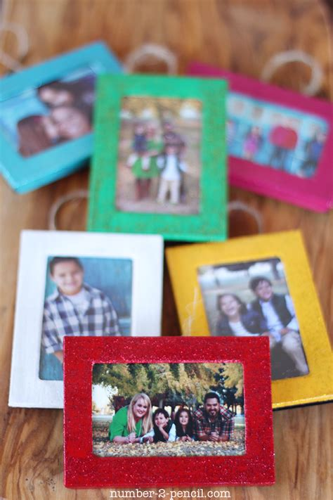 diy picture frame ornaments ornaments from dollar store picture frames no 2 pencil