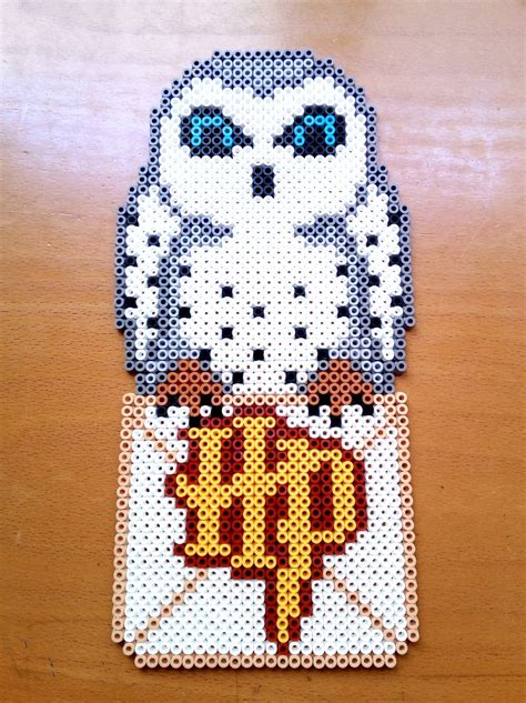 hama pattern ideas hedwig harry potter hama beads by isaletheia crafts
