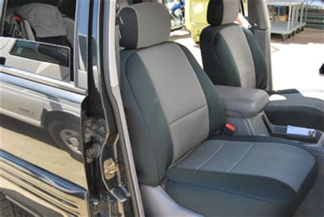 2006 Jeep Grand Seat Covers Jeep Commander 2006 2010 Iggee S Leather Custom Seat Cover