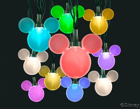Disney Magic Holiday New Holiday Lighting And More Mickey Mouse String Lights