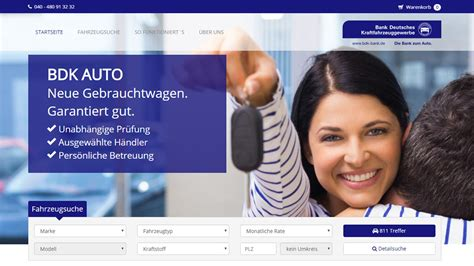 Bdk Startet Fahrzeugmarkt Autohaus De