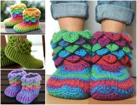 crochet crocodile slippers free pattern the cutest crochet crocodile stitch booties tutorial