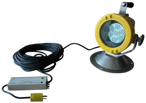 explosion proof led work lights larson electronics magnalight releases low voltage