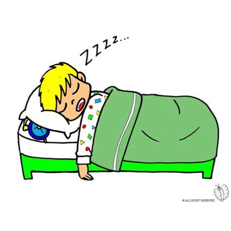 disegni da letto disegno di bambino a letto a colori per bambini