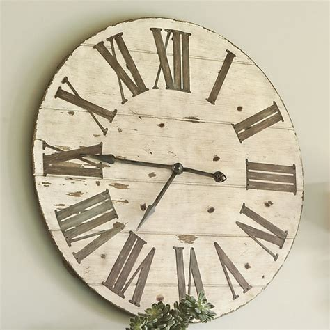 lanier wall clock farmhouse clocks by ballard designs