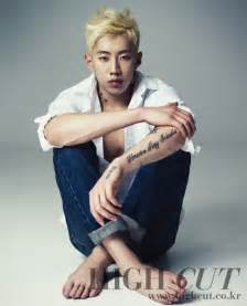 jay park goes blond in high cut seoulove