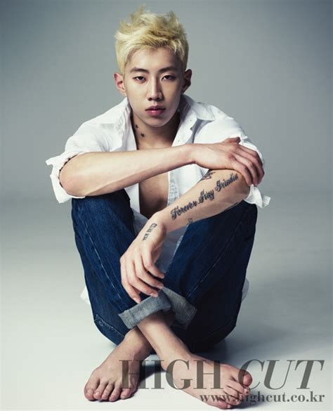 jay park left arm tattoo jay park goes blond in high cut seoulove