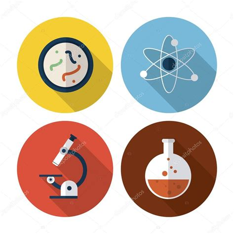 icon design lab biology design lab icon flat illustration vector