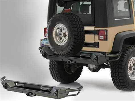 Jeep Gears Smittybilt 174 Gen2 Src Rear Bumper For 07 14 Jeep 174 Wrangler