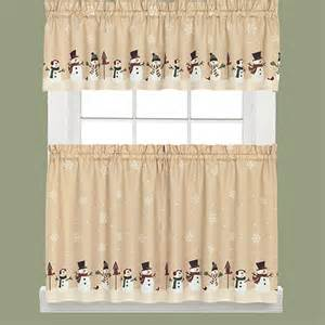 Snowman Curtains Kitchen Kitchen Curtains Discount Starfamilyhome