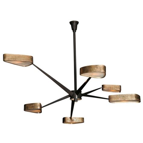 Modern Bronze Chandelier Contemporary Bronze And Onyx Spider Chandelier By