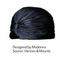 Topshops Prada Esque Turban Hits The High by Madgetribe Madonna S Hat Trick