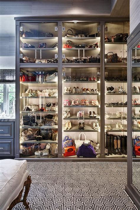Glass Bag Cabinet Design Ideas