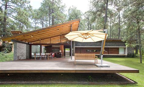 casa madera moderna dise 241 o de casa de co construccion moderna con