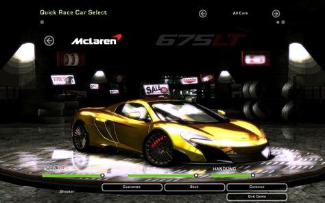 download mod game underground 2 need for speed underground 2 mclaren 675 lt spider nfscars