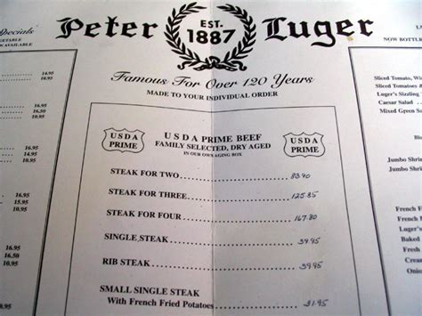 peter luger steak house peter luger steak house 176 178 broadway williamsburg brooklyn
