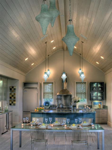 Contemporary Kitchen Ceiling Lights Photos Hgtv