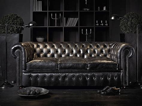 chesterfield black sofa deco on chesterfield chesterfield sofa