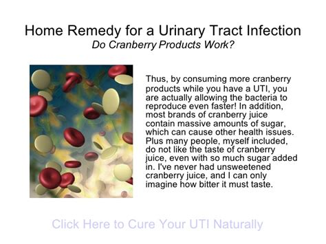 home remedy for a urinary tract infection