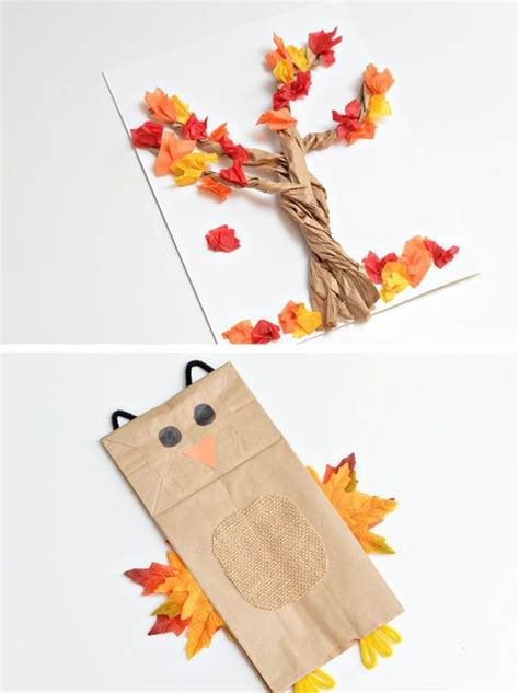 Fall Paper Crafts - creative fall craft ideas for adults beau