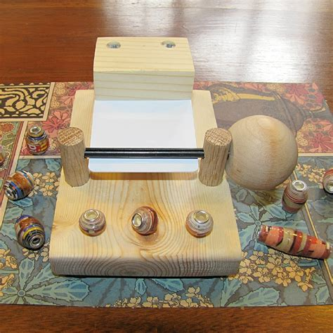 Paper Bead Machine - v3 european style paper bead roller rolling machine with