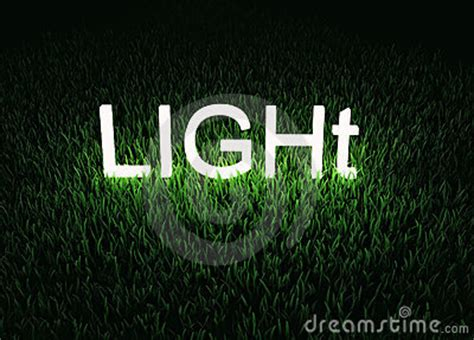 Word Lights by Light Word Concept Royalty Free Stock Image Image 17572696
