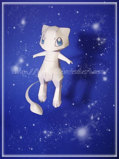 Mew Papercraft - mew papercraft by lyrin 83 on deviantart