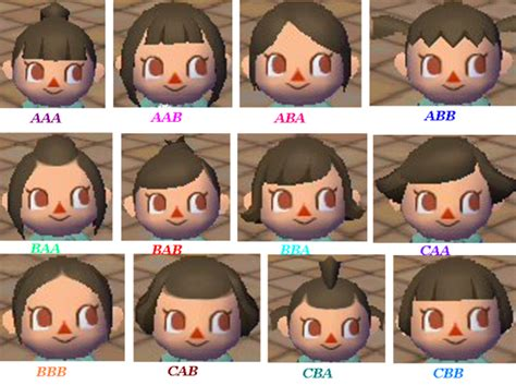 animal crossing boy hairstyles coupes de cheveux filles