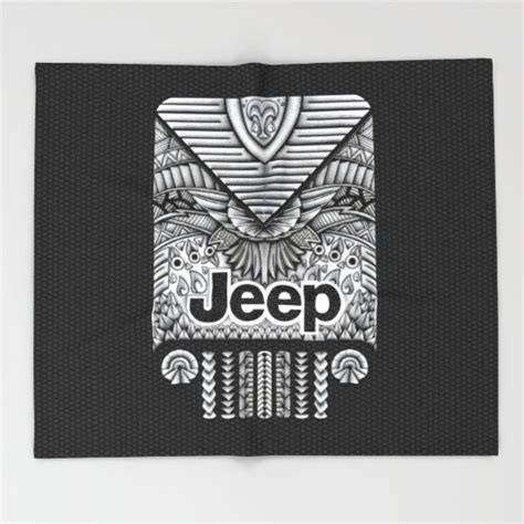 Jeep Blanket Aztec Jeep Iphone 4 4s 5 5c 6 Pillow Mugs And
