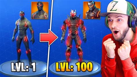 fortnite omega tier 100 omega skin upgraded in fortnite battle