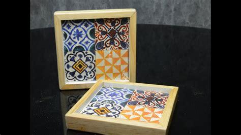 Tatakan Gelas Kayu Jati Wood Coaster tatakan gelas unik bahan kayu unike dekor